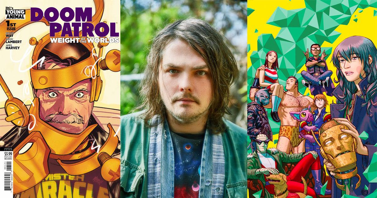 Gerard Way Talks Young Animal Doom Patrol And Managing Creativity